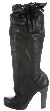 Marc by Marc Jacobs Elastic Knee-High Boots