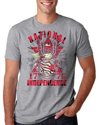 DAY Birger et Mikkelsen Silk Road Tees National Indepandance T-Shirt USA Tee Shirt 4th July Shirt Medium Pink