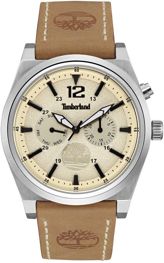 TimberlandTimberland Men's Campton Leather Watch