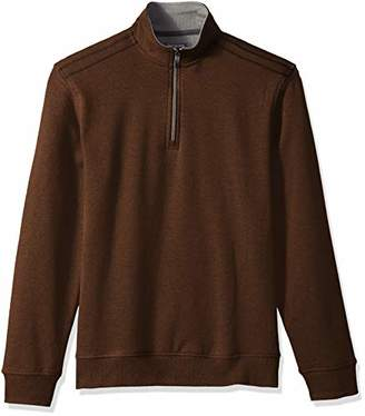 Van Heusen Men's Flex Long Sleeve 1/4 Zip Soft Spectator Sweater Fleece