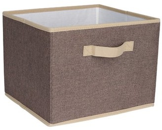 Household Essentials Open Storage Bin with Cloth Handles