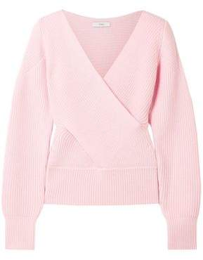 Tome Cutout Ribbed Merino Wool Sweater