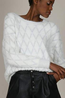 Molly Bracken Sparkle Fur Sweater