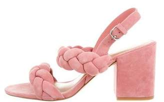 Rebecca Minkoff Suede Slingback Sandals