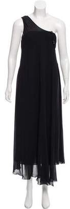 Chanel One-Shoulder Evening Dress