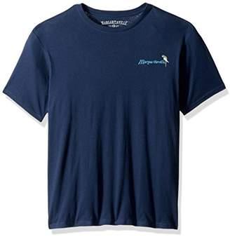 Margaritaville Men's Short Sleeve 5: 00 Groovy Guitar T-Shirt