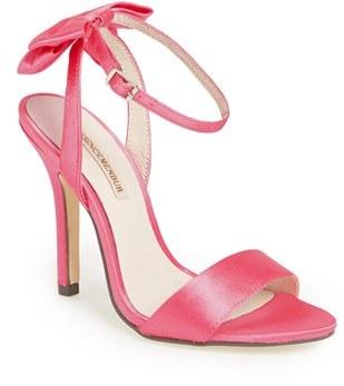 Women's Menbur 'Milan' Satin Sandal $144.95 thestylecure.com