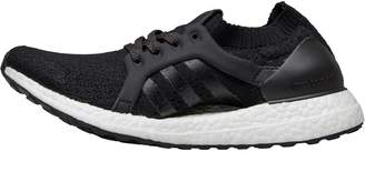 adidas Womens UltraBOOST X Neutral Running Shoes Core Black/Core Black/Tactile Gold Metallic