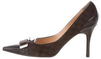 Louis Vuitton Ponyhair Pointed-Toe Pumps