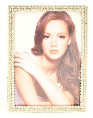 Swarovski Ciel Collectables Ania Picture Frame with Hand Set Clear Crystal, High Quality Silver Plating