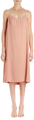 Dries Van Noten Dulci Strauss Cami Slip-Frame Dress