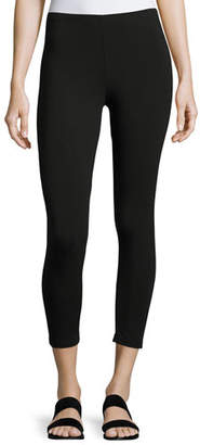 Joan Vass Jersey Cropped Leggings, Petite