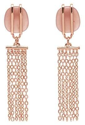 Lola Rose Women Pink Coral Dangle and Drop Earrings 697439
