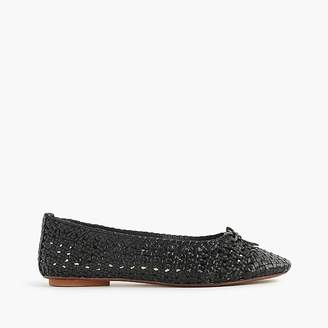 Dragon DiffusionTM for J.Crew woven ballet flats $168 thestylecure.com