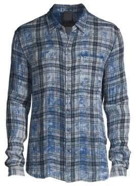 John Varvatos Printed Reversible Shirt