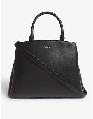 DKNY Paige large leather satchel