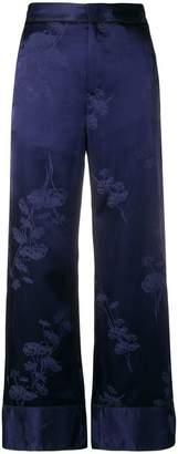 MM6 MAISON MARGIELA floral print pajama trousers