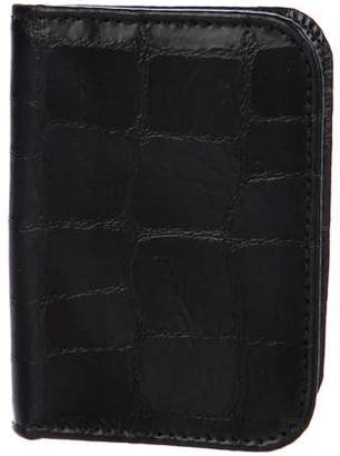 Clare Vivier Embossed Leather Cardholder