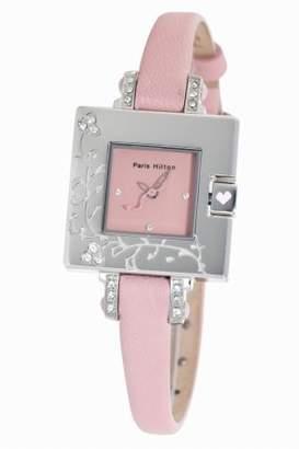 Paris Hilton Women's Small Square Pink Watch