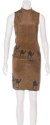 Akris Silk Printed Dress