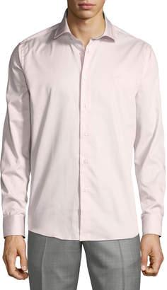 Roberto Cavalli Men's Comfort-Fit Dress Shirt, Pink