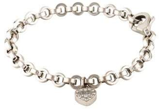Chopard 18K Happy Diamond Charm Bracelet