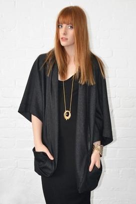 Fluxus Mission Wrap in Black $159 thestylecure.com