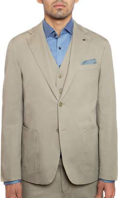 Joe's Jeans Men's Slim-Fit Solid Sport Jacket, Khaki