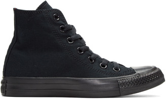 Converse Black Classic Chuck Taylor All Star OX High-Top Sneakers $55 thestylecure.com