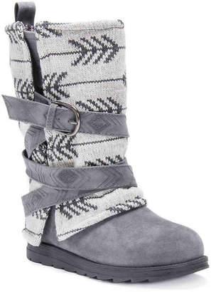 Muk Luks Nikki Sweater Boot - Women's