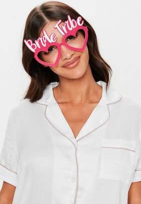 Missguided Bride Tribe Fun Glasses