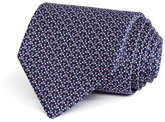 Salvatore Ferragamo Golf Tees Classic Tie $190 thestylecure.com