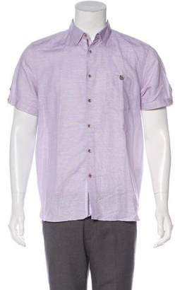 Ted Baker Short Sleeve Button-Up Shirt w/ Tags