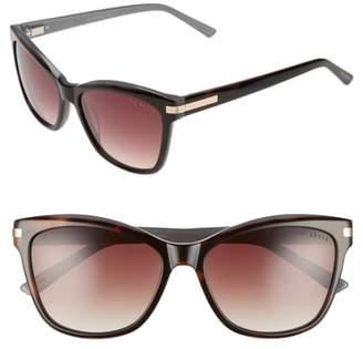 Ted Baker 56mm Cat Eye Sunglasses