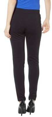 Mb Mossimo® Women's Coated Ankle Pant - Black