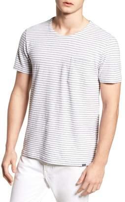 Woolrich & Bros. Stripe Crewneck T-Shirt