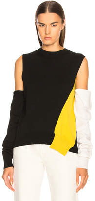 Calvin Klein Fold Down Sleeve Sweater