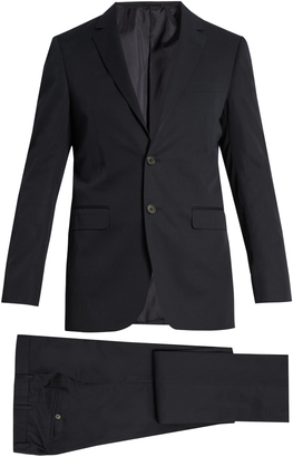 LANVIN Attitude-fit cotton-twill suit $1,990 thestylecure.com