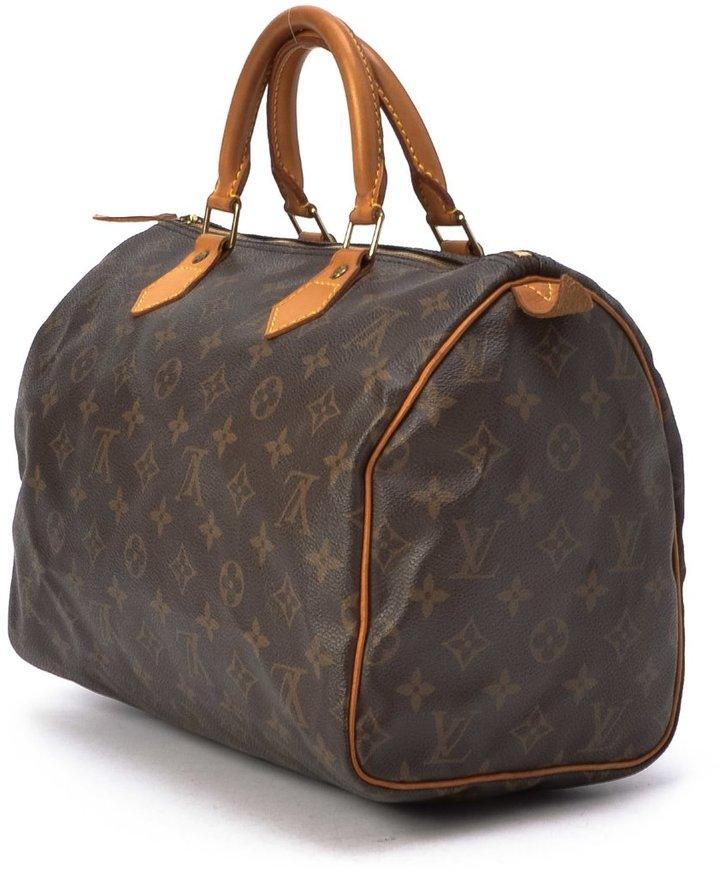 Louis Vuitton Pre-Owned: brown monogram canvas 'Speedy 30' bag