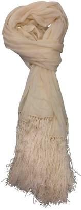 Loewe Vintage Ecru Silk Silk handkerchief