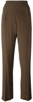 No.21 relaxed straight trousers