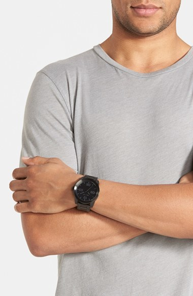 Men's Nixon 'The Corporal' Bracelet Watch, 48Mm 5