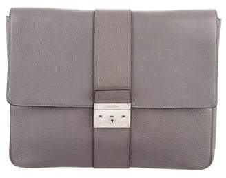 Calvin Klein Collection Grain Leather Portfolio