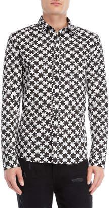 Love Moschino Puzzle Piece Sport Shirt