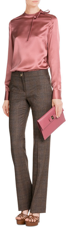 Salvatore Ferragamo Salvatore Ferragamo Wool-Blend Pants