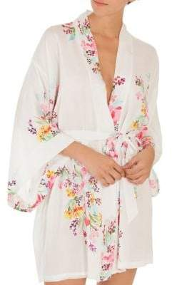 In Bloom Multicolored Floral Robe