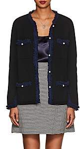 Barneys New York Women's Embellished Cashmere Cardigan - Black