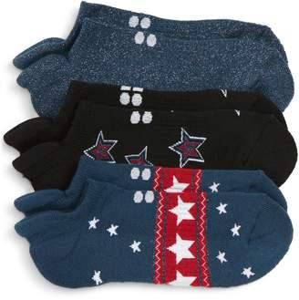 Sweaty Betty 3-Pack Low-Profile Holiday Socks