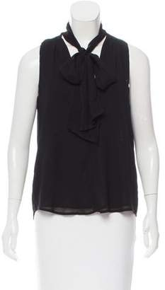 Reformation Sleeveless V-Neck Top
