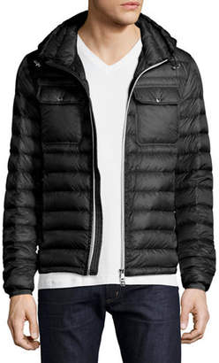 Moncler Douret Hooded Puffer Jacket $995 thestylecure.com